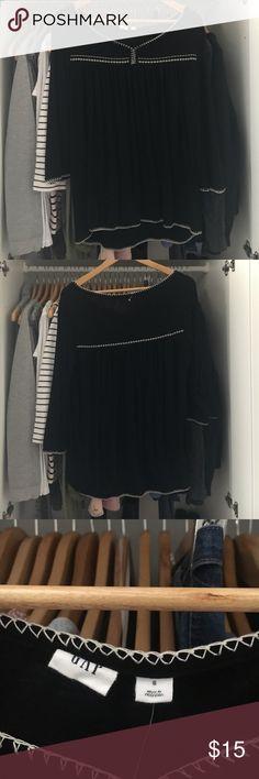 Black Gap Shirt Black Shirt from The Gap GAP Tops Blouses