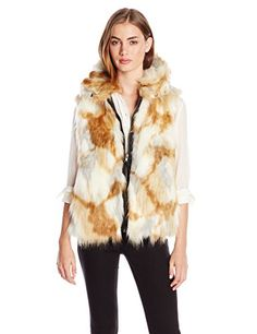 S13/NYC Women's Faux Fur Vest