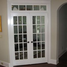 Decorative Glass French Doors Define This Home Office Simpson Venetia 8424 I