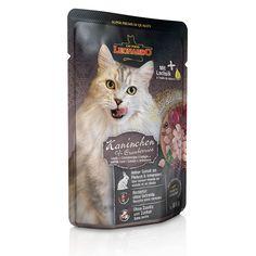 Terrine pour Chat Leonardo Lapin & Canneberges Lot de 16 / http://www.animaux-market.com/terrine-pour-chat-89