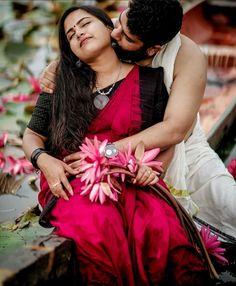 Kerala Wedding Photography, Romantic Couples Photography, Couple Photography Poses, Girl Pictures, Girl Photos, Girl Pics, Cute Girl Hd Wallpaper, Couple Photoshoot Poses, Actors Images