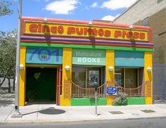 Cinco Puntos Press, 701 Texas Avenue, El Paso, Texas
