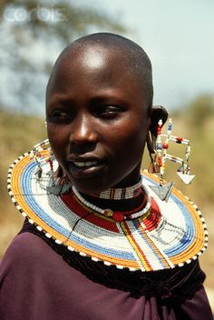 Africa | Masai woman.  Tanzania | ©Alissa Crandall