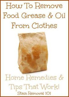 How To Remove Grease From Clothes: Home Remedies & Tips