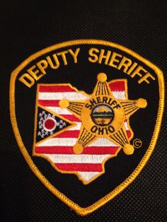 My Ohio Sheriff Deputy patch