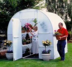 How to build your own greenhouse.