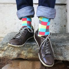 Angelo poses the age-old question: Which comes first, the socks or the party? Sockscribe.me