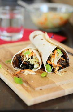 """vegan-yums: """" Asian Fusion Veggie Tacos """""""