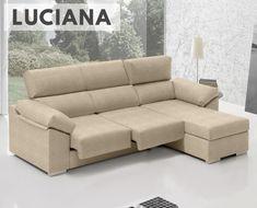 El sofá Luciana de HOME es una excelente opción para quien desee un sofá chaise longue confortable, con una buena relación calidad-precio.