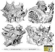 4 Tokyo Concepts by STUDIOBLINKTWICE on DeviantArt
