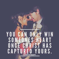 Love this!!! I hope that my future husband love God more than he loves me!