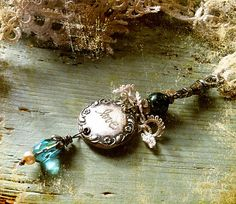 love pendant by ninabagley on Etsy