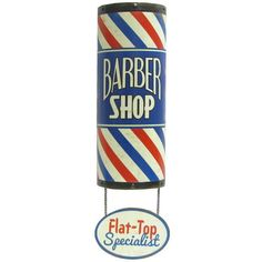 Barber Shop Flat-Top Specialist Tin Sign