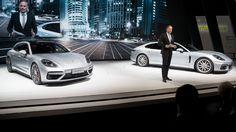 A Porsche a Sanghaji Autókiállításon