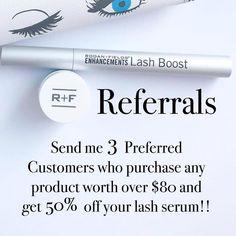 Rodan and Fields Lash Boost really works!!!   jbweibel.myrandf.com