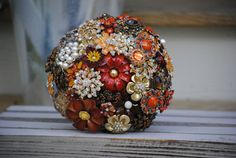 Deposit on a Custom Brooch Bouquet by nicolasacicero on Etsy, $110.00