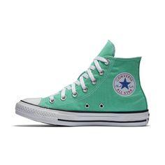 Converse Chuck Taylor All Star Seasonal Colors High Top Shoe Size 8.5  (Green) -
