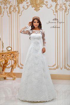 Selena wedding dress by Jasmine Empire wedding brand. Only Italian fabrics, natural pearls, SWAROVSKI stones Wedding Bride, Wedding Day, Wedding Dresses, Swarovski Stones, Selena, One Shoulder Wedding Dress, Jasmine, Empire, Fabric