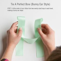 DIY Tips: How To Tie A Perfect Bow | Evermine Blog