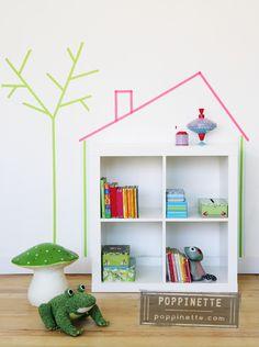decorar-la-habitacion-del-bebe-con-washi-tape.jpg 448×600 pixels