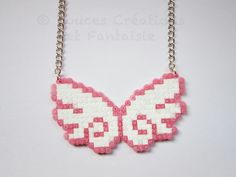 ❤ailes d'anges en perles à repasser❤