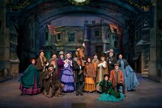 A Dickens Christmas Carol at Silver Dollar City during An Old Time Christmas