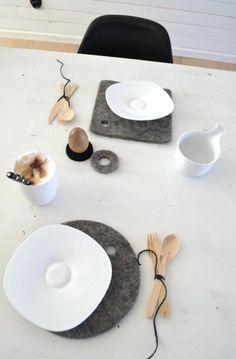 Table-setting LOVE WOOD ♥