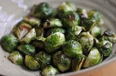 My original yummy recipe for brussel sprouts:  melt butter, brown sugar and soy sauce or worchestire sauce in a pot.  add a little water. pour in sprouts and cover in the sauce. cover and let steam for approximately 10 minutes.  Delicious!