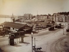Circular Quay, Sydney, Australia early 1900s | This is a pho… | Flickr Sydney City, Australia Wallpaper, Manly Beach, Australia Travel, Sydney Australia, Built Environment, Vacation Places, Old City
