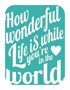 How wonderful life is while you're in the world - Elton John Honestly one of my favorite songs in this world. So beautiful, it's helped me get through so much that this songs pull on me is inexplainable Love Songs Lyrics, Music Lyrics, Music Quotes, Famous Song Lyrics, The Words, Your Song Elton John, Now Quotes, Life Quotes, Romantic Music