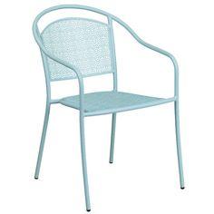flash furniture 30 round indoor outdoor steel folding patio table