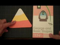 Making Candy Corn with George and Basic Shapes Provo Craft, Cricut Cartridges, Cricut Cards, Basic Shapes, Candy Corn, Craft Videos, Paper Crafts, Cricut Ideas, Handmade Cards
