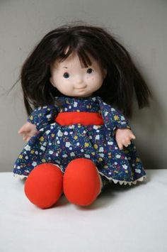 I still have my Jenny doll from the early 70's. When I take her out, I imagine I can still smell her baby powder scent...