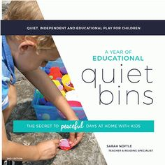 A year of quiet time activities planned! Little to no-prep and mess free! Awesome quiet time activities for preschoolers. Quiet Time Activities, Activities For 2 Year Olds, Kids Learning Activities, Infant Activities, Sensory Activities, Weather Activities, Sensory Bins, Teaching Kids, Moon Activities