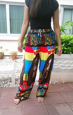 Unisex Reggae Rasta Clothing Rastafari Fashion by TribalSpiritShop