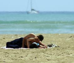 romanticismo in spiaggia