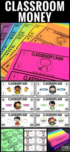 Using classroom money can be highly motivating and help students practice important math skills! Now you can use this editable set of classroom cash and personalize it with your name and school details. There are several options available for $1, $5, $10,