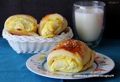 Jutarnja peciva — Coolinarika Good Morning Breakfast, Hamburger, Dairy, Bread, Cheese, Buns, Food, Brot, Essen
