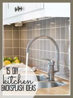inexpensive kitchen backsplash ideas budget friendly backsplash options cost to install a backsplash creative home improvement pinterest - Easy Kitchen Backsplash Options