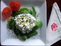 Creamy Yogurt Dip with Arugula- Binnur's Turkish Cookbook