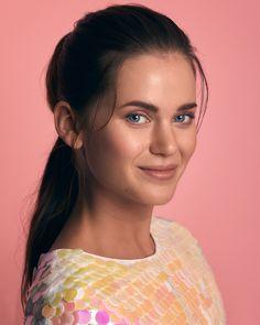 Actress Johanna Puhakka shot by Juho Lehtonen / Studio / Editorial Hair, Beauty Editorial, Beauty Portrait, Portrait Shots, Beauty Makeup, Eye Makeup, Hair Beauty, Beauty Photography, Portrait Photography