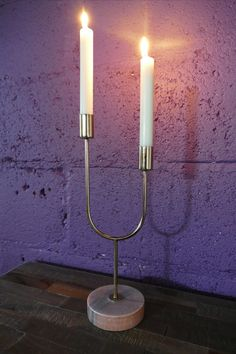 Wall Lights, Candle Holders, Gold Candle Sticks, Candle Sconces, Candlestick Holders, Candlesticks, Candelabra, Light, Pink Marble