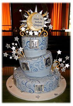 Zodiac Birthday Cake