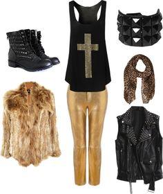 Disfraz Rock Glam #PruneForJune
