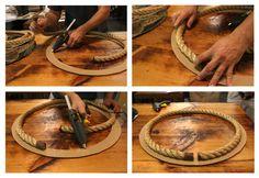 Nate Berkus: Nate Berkus: How to Make A Rope Mirror