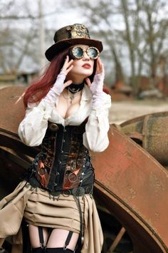 #Steampunk Tendencies | Steampunk Session - J.Dee
