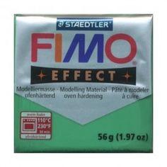 FIMO EFFECT VERDE GIADA TRASPARENTE N.506