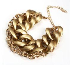 Bracelete Gold Chain - Comprar em Dáli Acessórios — Dáli Acessórios
