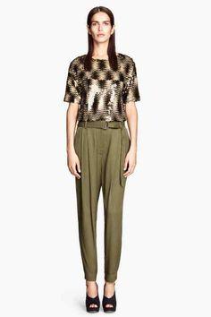Pantalon Loose fit