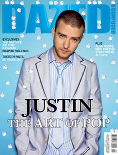 Dazed & Confused | Sept 2006 | The Art of Pop // Justin Timberlake